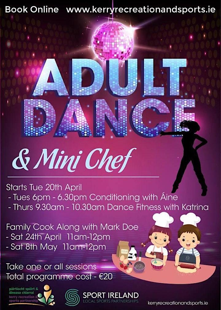 Adult Dance Fitness & Mini Chef image