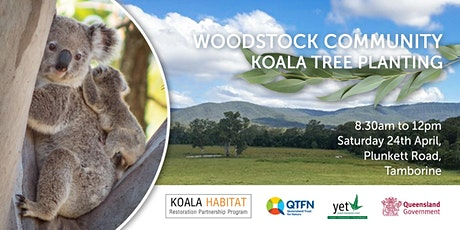 KHRPP Woodstock Koala Tree Planting tickets