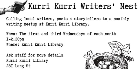 Kurri Kurri Writers' Nest 3rd Wednesday tickets