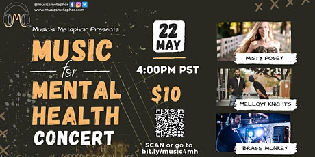 Music for Mental Health Virtual Concert Tickets