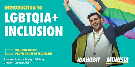 IDAHOBIT Online: Introduction to LGBTQIA+ Inclusion tickets