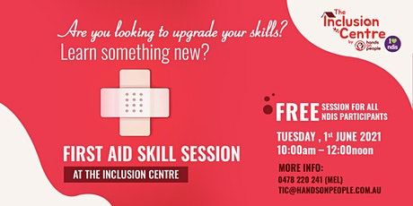 First Aid Skill Session tickets