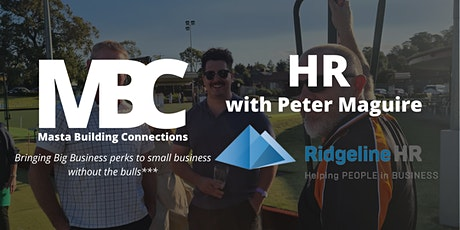 Laugh and Learn with Peter Maguire from Ridgeline HR tickets