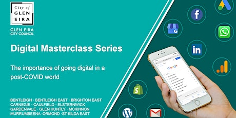 Digital Masterclass Series: Keeping up with the social media networks tickets