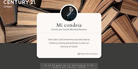 """PRESENTACIÓN LIBRO """"MI CONDESA"""", by Cecilia Morales entradas"""