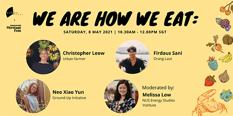 We are how we eat: A discussion on Food, Sustainability and History tickets