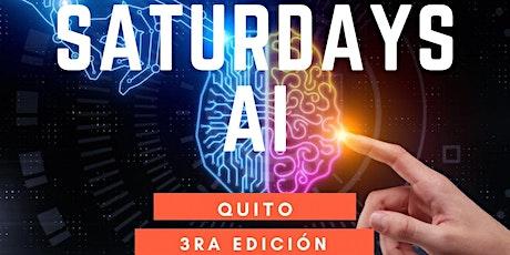 AI Saturdays 3ra Edición entradas