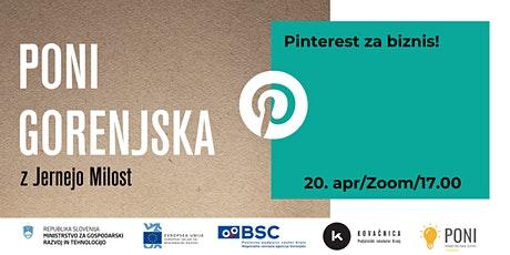 Pinterest za biznis! tickets