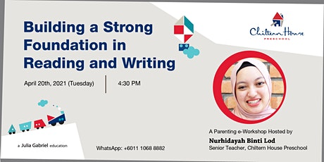 Building a Strong Foundation in Reading and Writing (Parenting e-Workshop) tickets