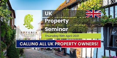 UK Property Tax Seminar | Soteria Trusts tickets