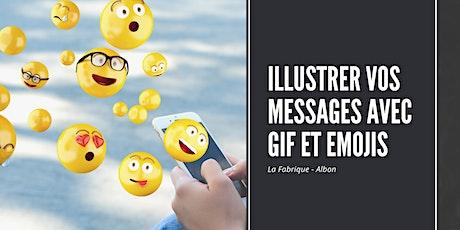 Lundi de la Fabrique : Comment illustrer vos messages avec GIF et emojis ? billets