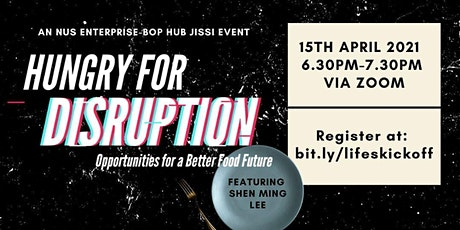 Hungry for Disruption: Opportunities for a Better Food Future tickets