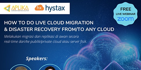 How To Do Live Cloud Migration & Disaster Recovery From/To Any Cloud tickets