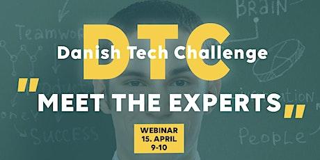 Danish Tech Challenge: Meet the experts tickets