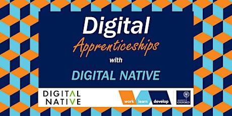 Digital Apprenticeships with Digital Native | Apprenticeship Expo tickets