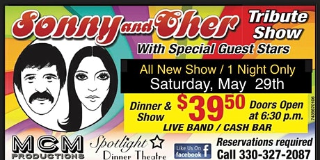 Sonny & Cher Tribute Show tickets