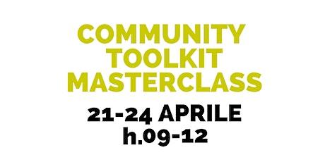 Community Toolkit Masterclass biglietti