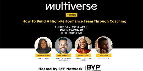 How To Build A High-Performance Team Through Coaching (Multiverse) tickets