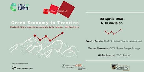 Green Economy in Trentino biglietti