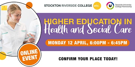 Higher Education in Health and Social Care Online Event tickets
