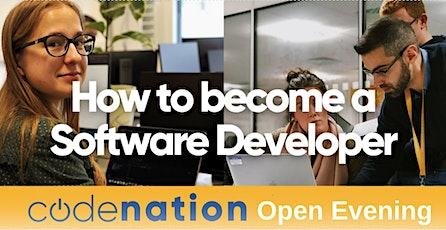 Code Nation - Virtual Open Evening - 20th  April tickets