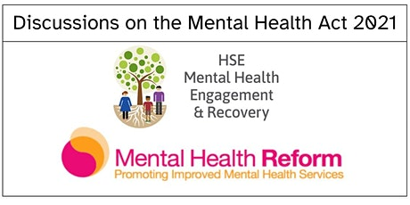 Discussion on the Mental Health Act 2021 tickets