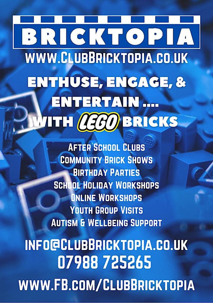 Bricktopia Builder Club OCTOBER HALF TERM sessions image