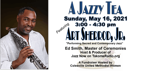 Jazzy Tea Zoom Event   - A  Fundraiser  by CUMW tickets