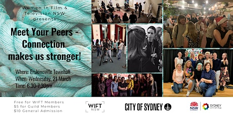 WIFT NSW Meet Your Peers - Connection Makes us Str tickets