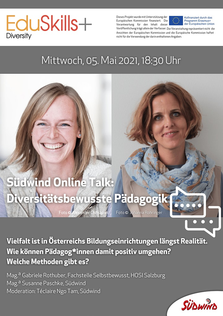 Südwind Online-Talk: Diversitätsbewusste Pädagogik: Bild