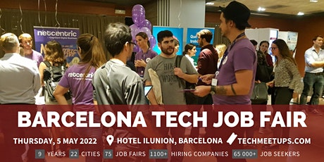 Barcelona Tech Job Fair entradas
