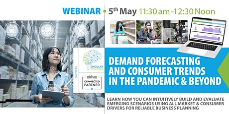 Demand Forecasting and Consumer Trends in the pandemic and beyond tickets