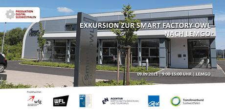 Exkursion zur Smart Factory OWL nach Lemgo Tickets