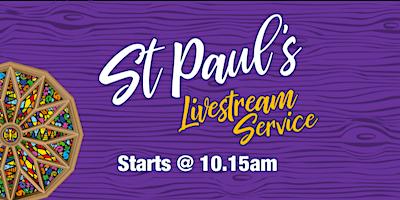 Live Stream Service - Sunday 11th April