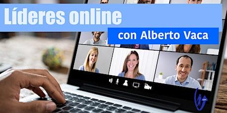 Líderes online.  Gestión de Equipos en Remoto. entradas