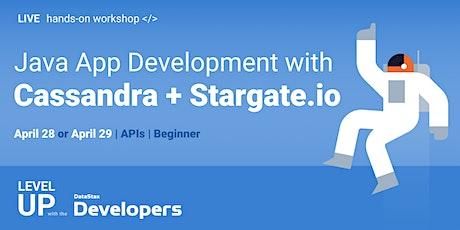 Cloud-Native Workshop - Java App Development with Cassandra + Stargate tickets