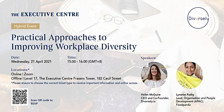 Hybrid Event: Practical Approaches to Improving Workplace Diversity tickets