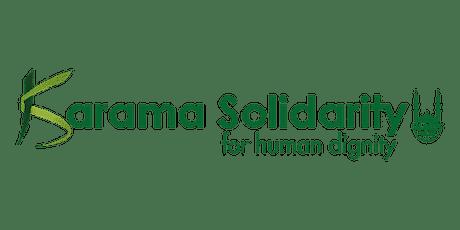 KARAMA SOLIDARITY - INFLUENCEURS - SÉANCE D'INFORMATION  - 12/04/2021 tickets