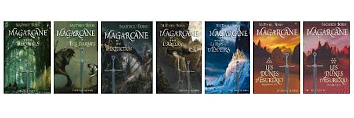 """Image pour Conférence """"L'aventure Magarcane & l'Héroïc Fantasy"""" avec Matthieu Bobin"""