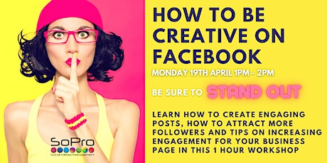 How to create engagement for business on Facebook with Rachel Barnett tickets