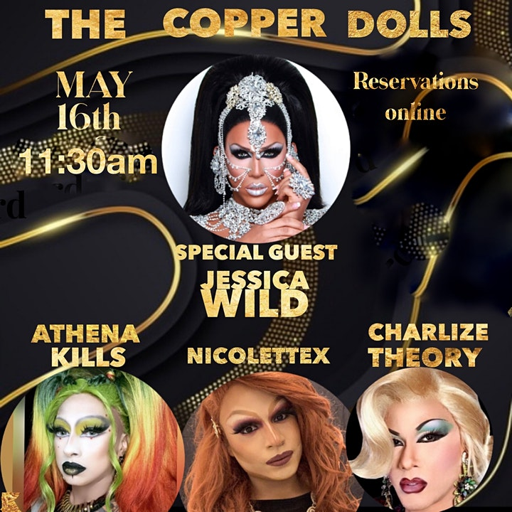 Brunch with Copper Dolls image