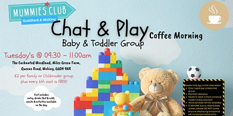 Chat & Play Parent & Baby/Toddler Group Woking tickets