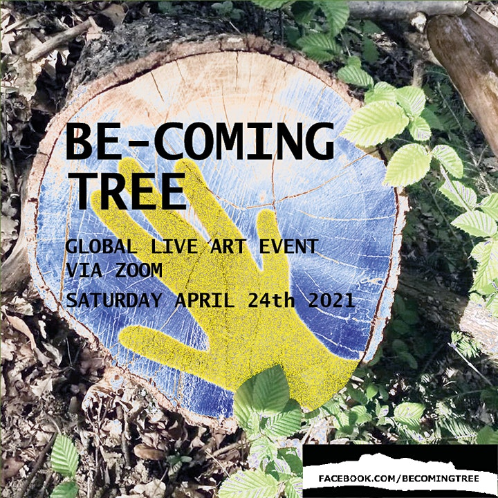 4th Global Be-coming Tree Live Art event image