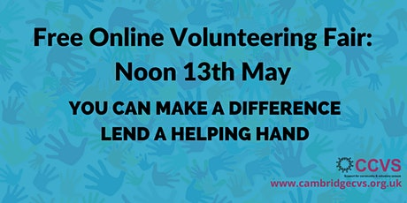 Cambridgeshire Online Volunteering Fair tickets