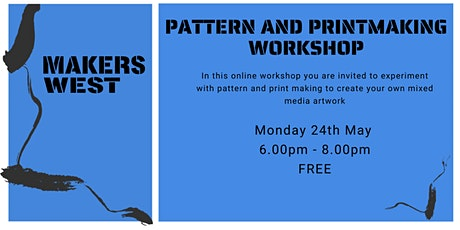 Pattern and Printmaking Workshop tickets