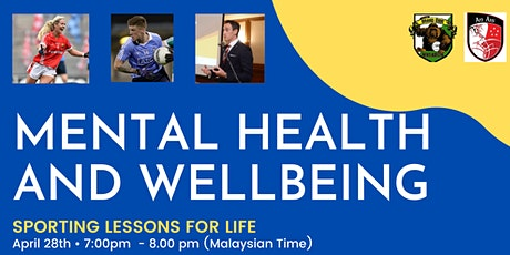 Mental Health and Wellbeing - Sporting Lessons for Life tickets