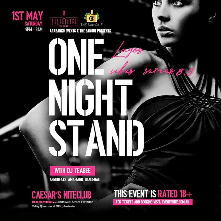 Lagos Vibes Party 8.0 ~~ One Night Stand with Dj T image