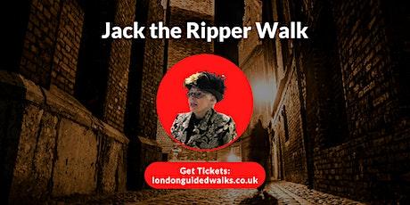 Jack the Ripper Walk tickets