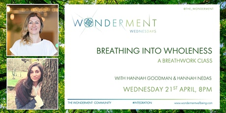 Breathing Into Wholeness - A Breathwork Class Tickets