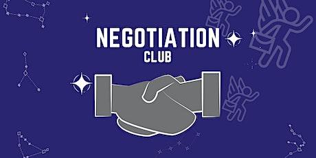 The Negotiation Club tickets